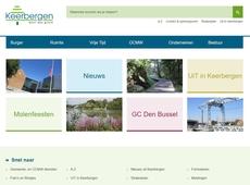 Nieuwe gemeentelijke website