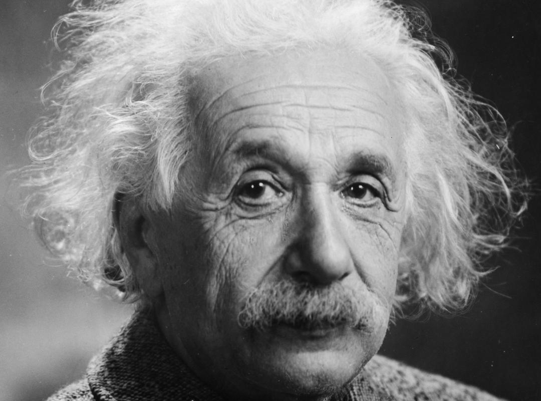 Albert Einstein: Meer dan het verleden interesseert mij de toekomst, want daarin ben ik van plan te leven.